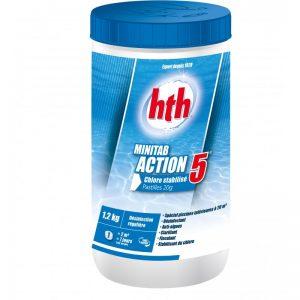 chlore-multifonction-hth-minitab-action-5-pastilles-20-g-petites-piscines-12-kg
